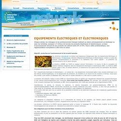 Equipements électriques et électroniques