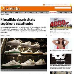 Equipements sportifs: Nike affiche des résultats supérieurs aux attentes - Économie: Entreprises