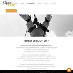 Les équipements de protection individuelle (EPI) - OpenSafe(pro)