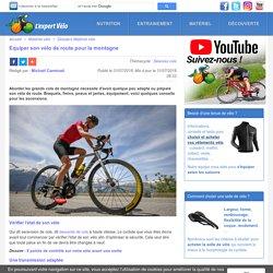 Equiper son vélo de route pour la montagne