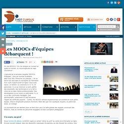 Les MOOCs d'équipes débarquent !