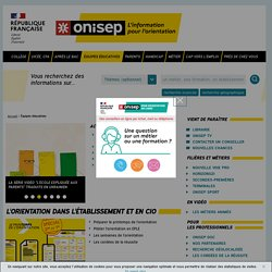 Équipes éducatives - Onisep