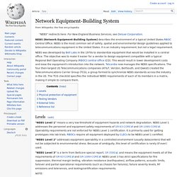 Network Equipment-Building System