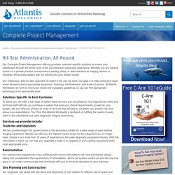 Medical Imaging Equipment Project Management by Atlantis Worldwide