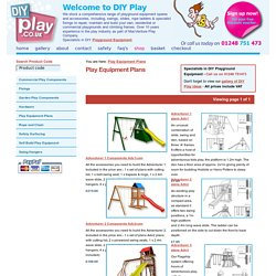 Play Equipment Plans Playground Equipment UK