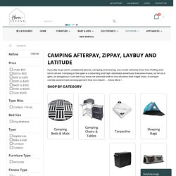 camping afterpay