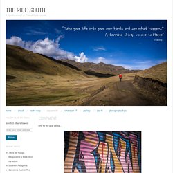 THE RIDE SOUTH