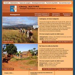 Voyage équitable et solidaire à Madagascar