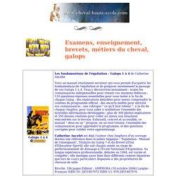 Livres Equitation: Examens, Enseignement, Brevets, Métiers du cheval, Galops