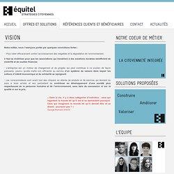 Engagement citoyen - Vision