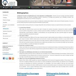 Institut de Formation en Equithérapie (IFEq) - Bibliographie