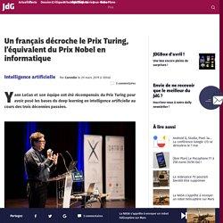 Un français décroche le Prix Turing, l'équivalent du Prix Nobel en informatique