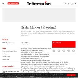 Er der håb for Palæstina?