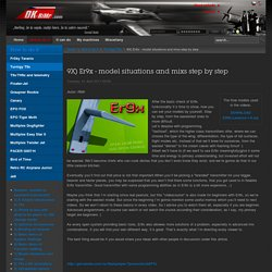 9X) Er9x - model situations and mixs step by step - RC hobby by RiMr