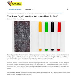 12 Best Dry Erase Markers for Glass Reviewed and Rated of 2020