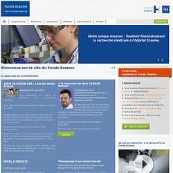 Fonds Erasme pour la recherche medicale