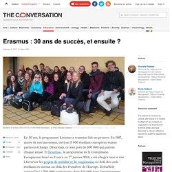 Erasmus : 30 ans de succès, et ensuite ? - 2017
