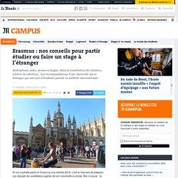 Erasmus: nos conseils pour partir étudier ou faire un stage à l'étranger