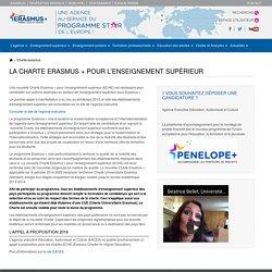 La Charte Erasmus+ pour l'enseignement supérieur