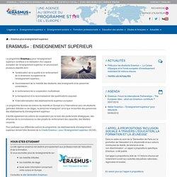 Erasmus+ : enseignement supérieur