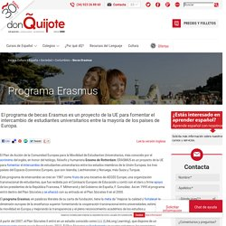Erasmus en España - Programa de Becas Erasmus