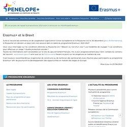 Penelope+ : Accompagnement des projets Erasmus+