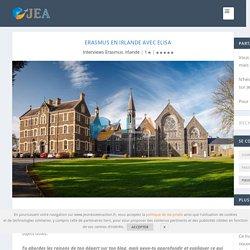 Erasmus en Irlande avec Elisa - Jeunesse en Action