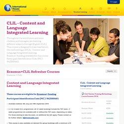 Erasmus+ CLIL Methodology Teacher Training Courses