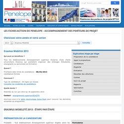 Erasmus Mobilité 2013