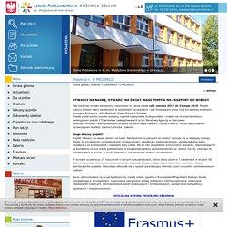 Erasmus+ - Szkoła Podstawowa nr 41 - Gliwice