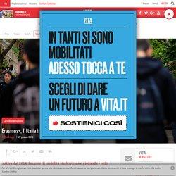 Erasmus+, l'Italia in prima fila nel boom del Programma europeo (27/01/2016)
