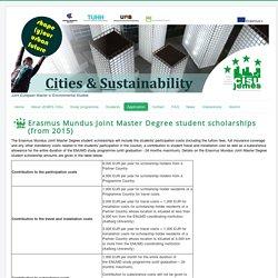 Erasmus Mundus Joint Master Degree student scholarship