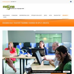 Maxima Erasmus KA1 Teacher training courses in Split, Croatia - Maxima