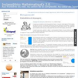 Eratosthène et Anaxagore