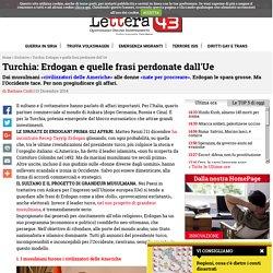 renzi erdogan affari italia turchia