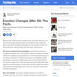 Erection Changes After 50: The Facts