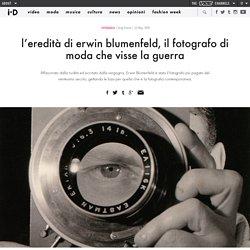 l'eredità di erwin blumenfeld, il fotografo di moda che visse la guerra