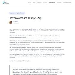 Hoverwatch Erfahrungen [2020]: Wie funktioniert's? - GeoProtecta