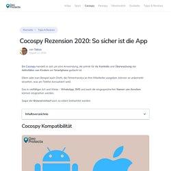 Cocospy für iPhone & Android ► Erfahrungen & Bewertung - GeoProtecta