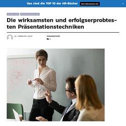 Die wirksamsten und erfolgserprobtesten Präsentationstechniken › Praxisinformationen zum Personalmanagement