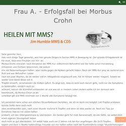 Frau A. - Erfolgsfall bei Morbus Crohn