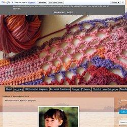 ergahandmade: Circular Crochet Bolero + Diagram