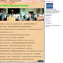 Im Team Deutsch lernen
