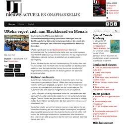 UReka ergert zich aan Blackboard en Menzis