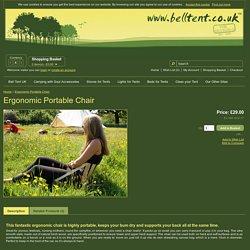 Ergonomic Portable Chair