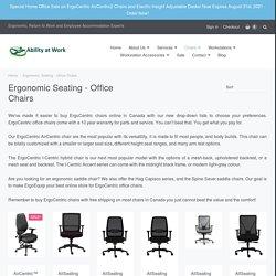 Buy Online Best Ergonomic Saddle Chair