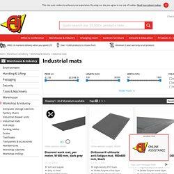 Benefits of using heavy duty industrial matting