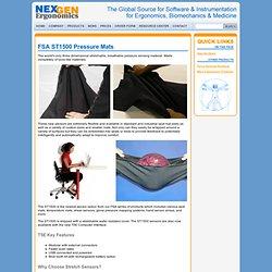 NexGen Ergonomics - Products - FSA ST1500 Pressure Mats