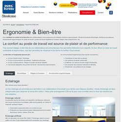 Ergonomie & Bien-être - Ouest Bureau