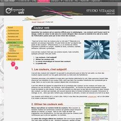 Couleur web : l'accord des couleurs, le cercle chromatique et la palette web